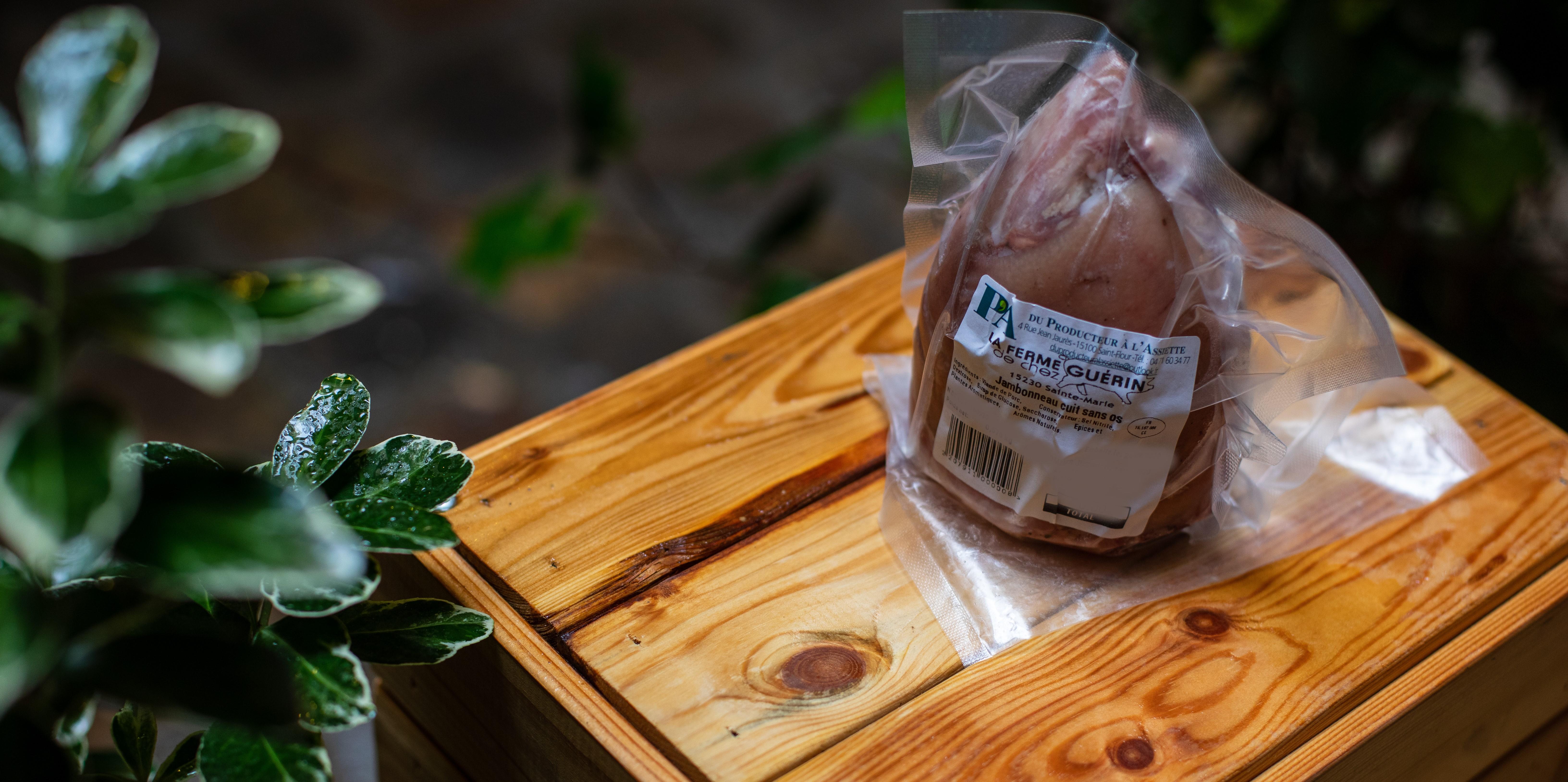 Jambonneau cuit sans os 600G 1