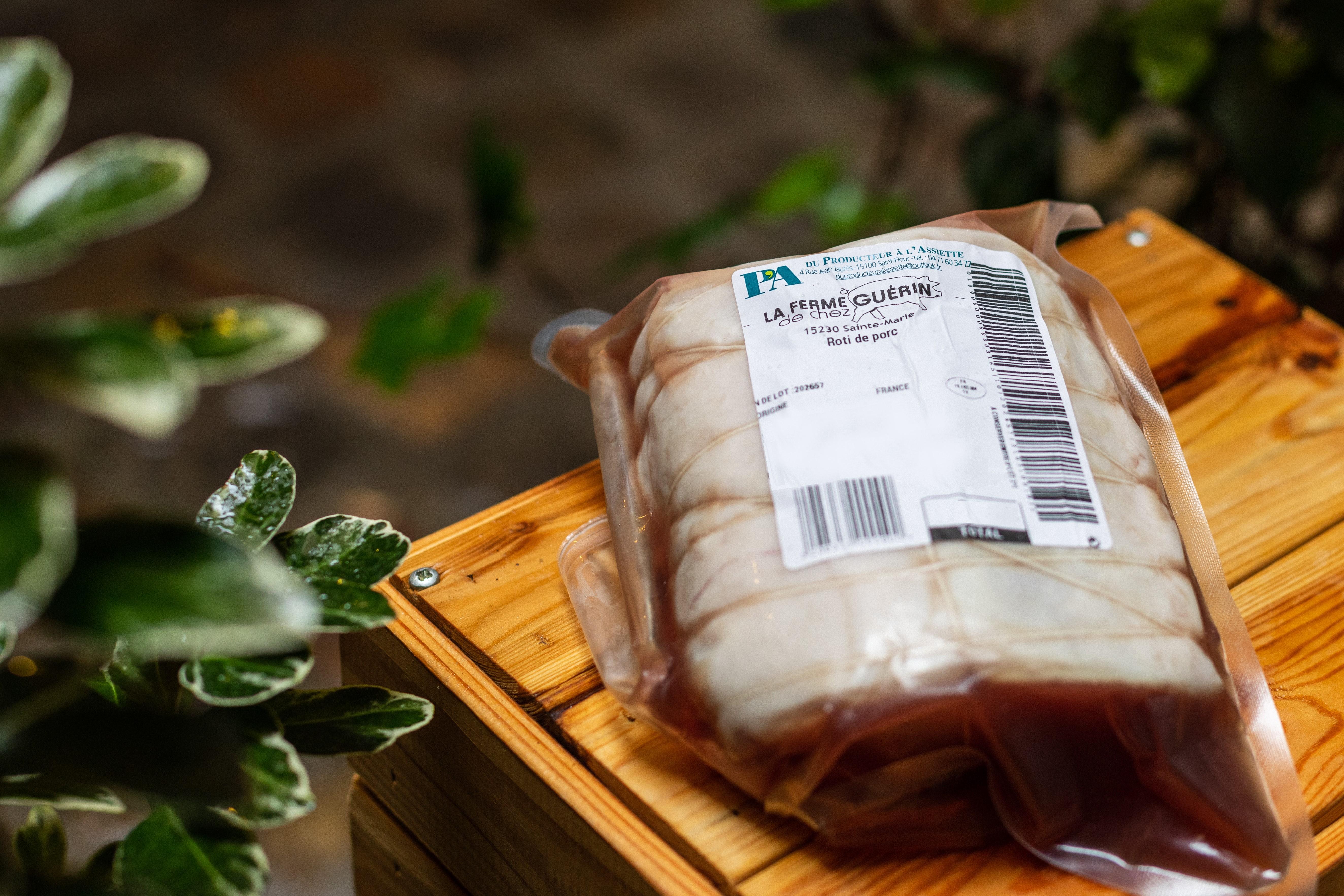 Rôti de Porc (longe entière) 1KG 2
