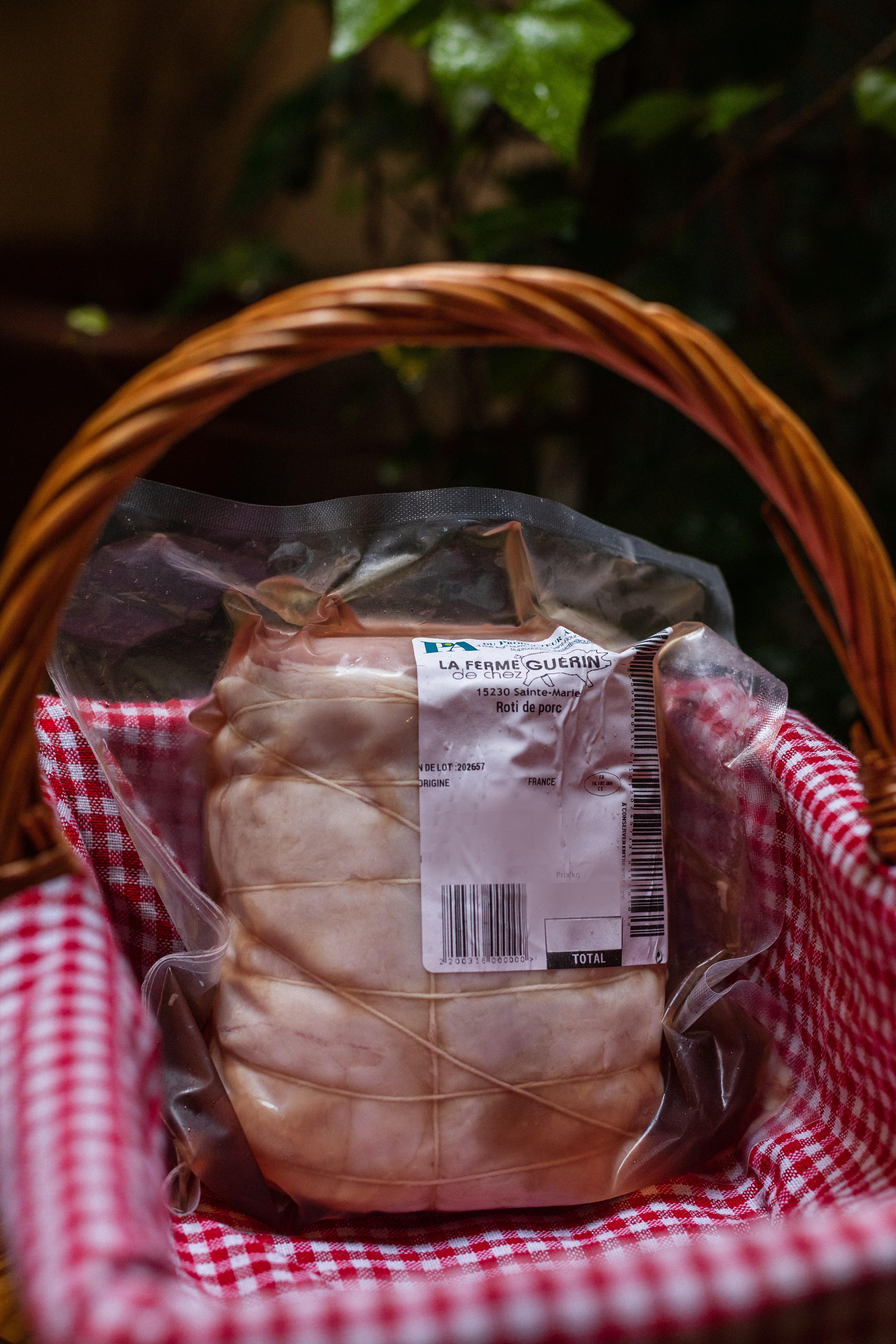 Rôti de Porc (longe entière) 1KG 1