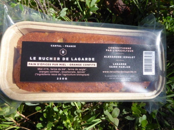 Pain d'épice orange confite 250g 2