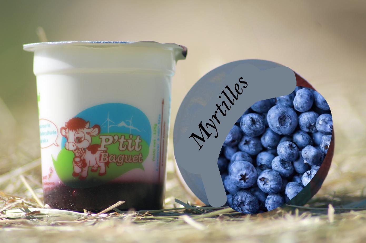 🆕 Yaourt Fermier Brassé Coulis Myrtilles 4 X 130G 1