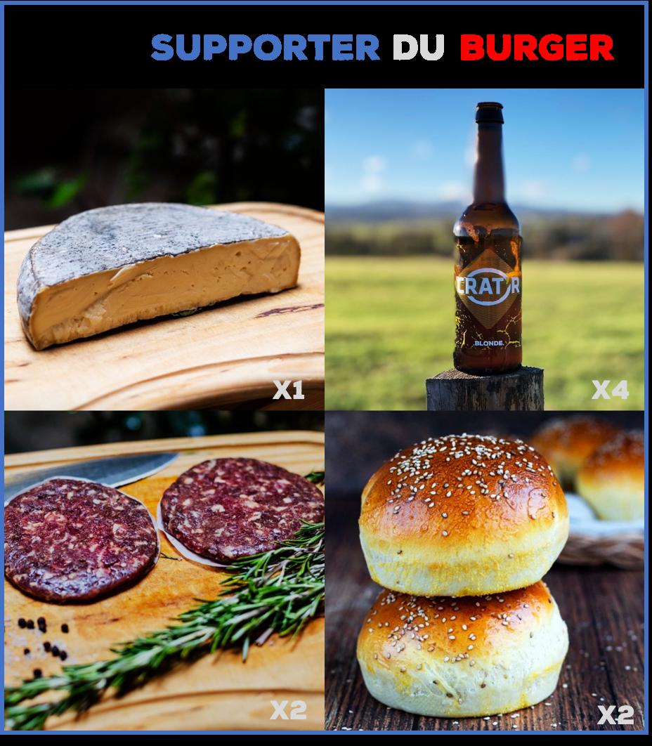 """⚽️🏉🎾 Pack """"Supporter du Burger"""" 1"""