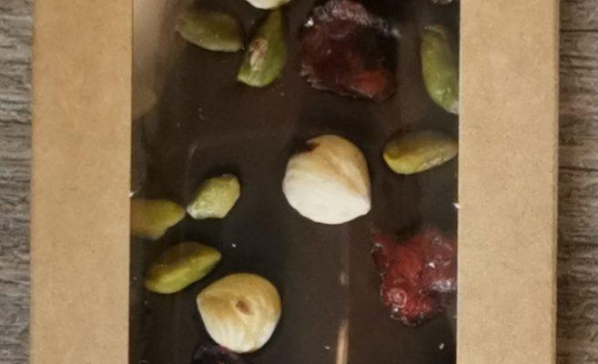 TABLETTE CHOCOLAT NOIR NOISETTES FRUITS SECS GRENIER